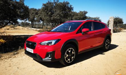 Al volante del Subaru XV GLP 2019