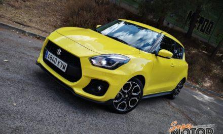 Al volante del Suzuki Swift Sport 2019