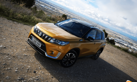 Al volante del Suzuki Vitara 2019