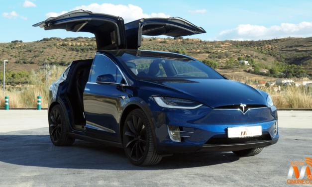 Al volante del Tesla Model X 100D 2017