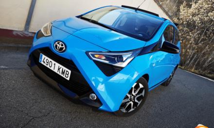 Al volante del Toyota Aygo 2019
