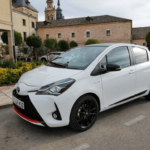 Al volante del Toyota Yaris GR Sport 2019
