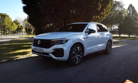 Al volante del Volkswagen Touareg 2019