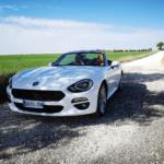 Al volante del Fiat 124 Spider 2018