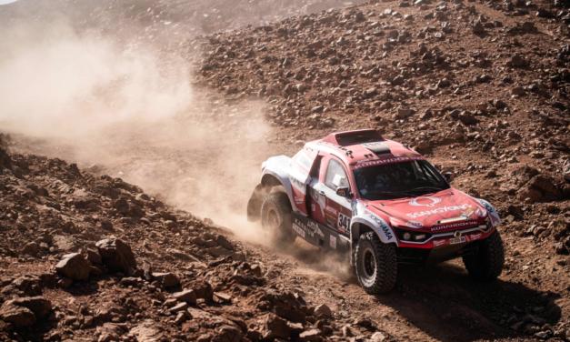 El equipo de SsangYong escala 5 posiciones en la general del Dakar