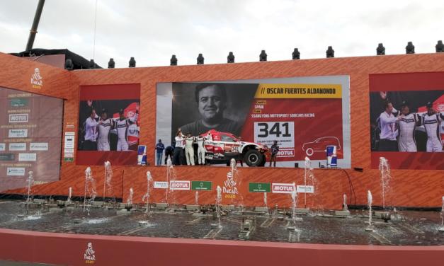 Oscar Fuertes llega tras superar una odisea personal al Dakar 2020