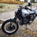 Rodando con la Mash Dirt Track 650 2019