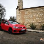 Al volante del Volkswagen Golf GTi TCR 2019