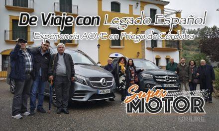 De viaje con Legado Español viviendo la experiencia AOVE en Priego de Córdoba.