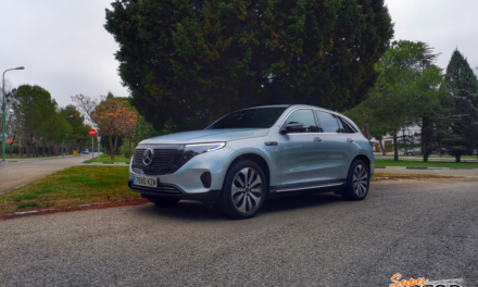 Al volante del Mercedes-Benz EQC 2020