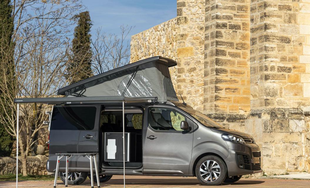 Nueva Citroën Jumper Camper, diseñada para la aventura