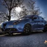 Al volante del Alfa Romeo Giulietta Veloce 2020