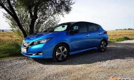 Al volante del Nissan Leaf 2020