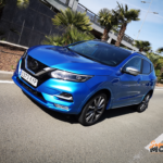 Al volante del Nissan Qashqai 2020