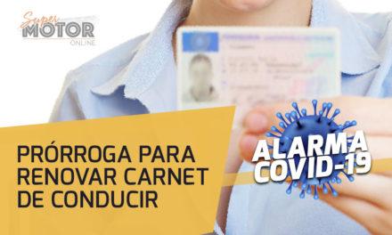Prórroga durante 60 días la vigencia de Carnet de Conducir por el COVID-19