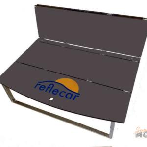 Cama CAMPER de maletero con tablero Fenólico