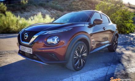 Al volante del Nissan Juke 2020