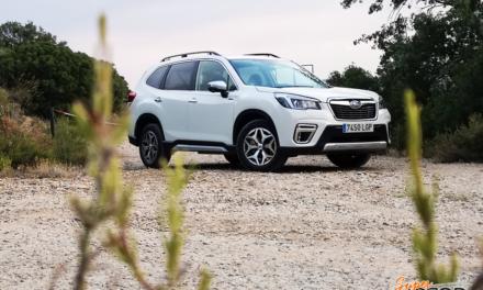 Al volante del Subaru Forester EcoHybrid 2020