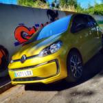 Al volante del Volkswagen e-UP 2020