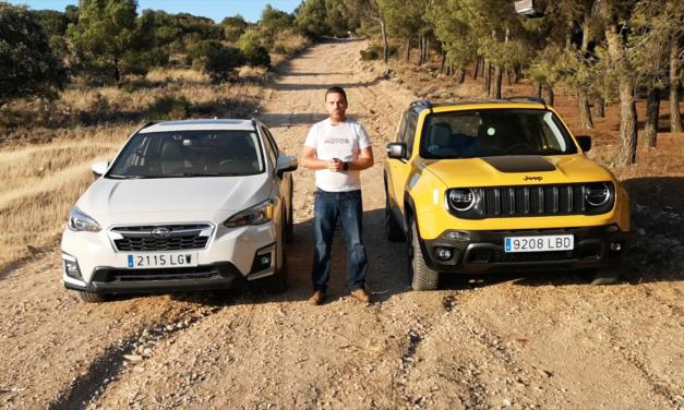 Alternativas SUV 4X4 – Jeep Renegade vs Subaru XV