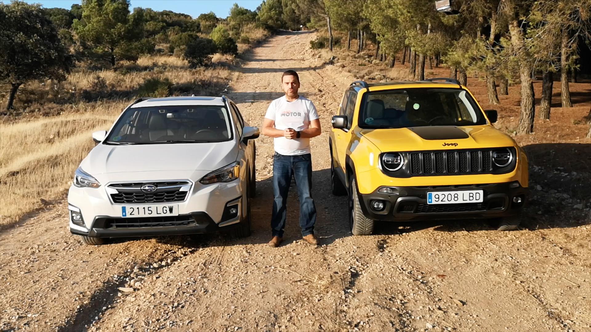 Alternativas SUV 4X4 - Jeep Renegade vs Subaru XV