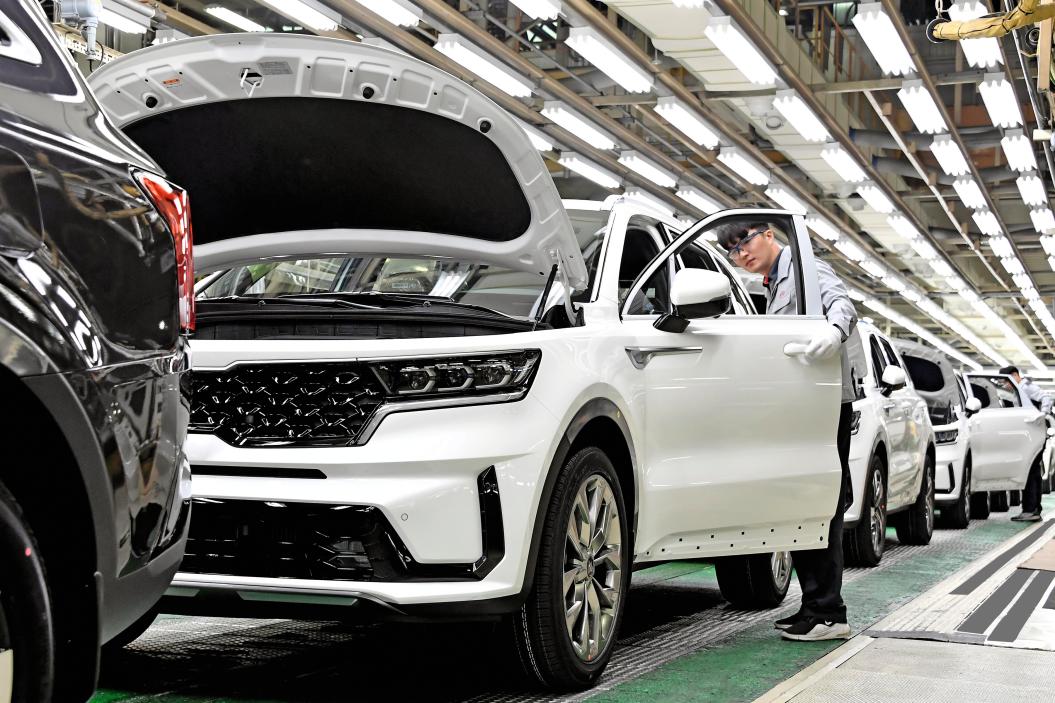 Comienza la producción del Kia Sorento Hybrid