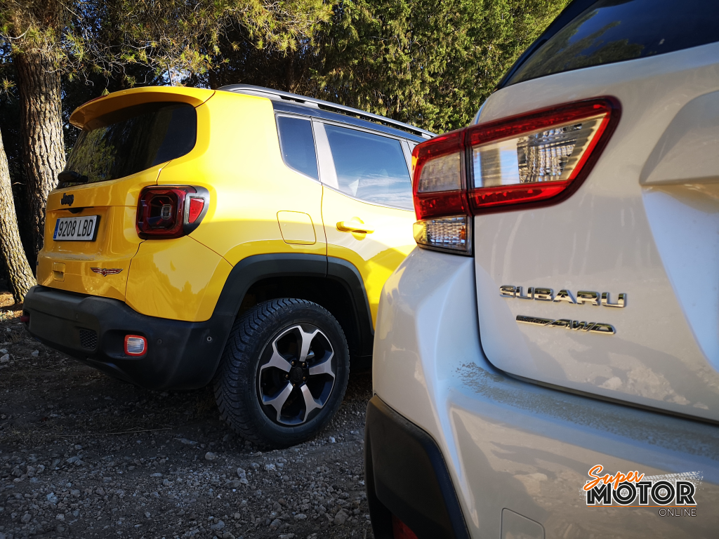 Alternativas SUV 4X4 - Jeep Renegade vs Subaru XV