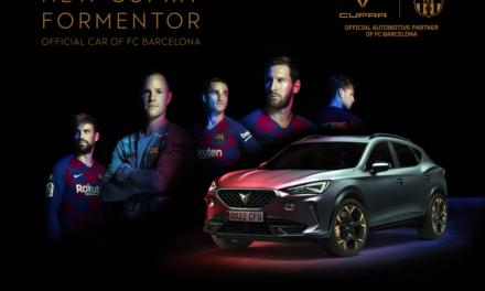 El CUPRA Formentor se convierte en el coche oficial del FC Barcelona