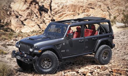 Nuevo Jeep® Wrangler Rubicon 392 Concept, motor V8 de 6.4 litros