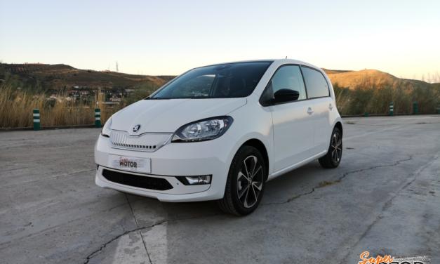 Al volante del Skoda CITIGOe iV 2020