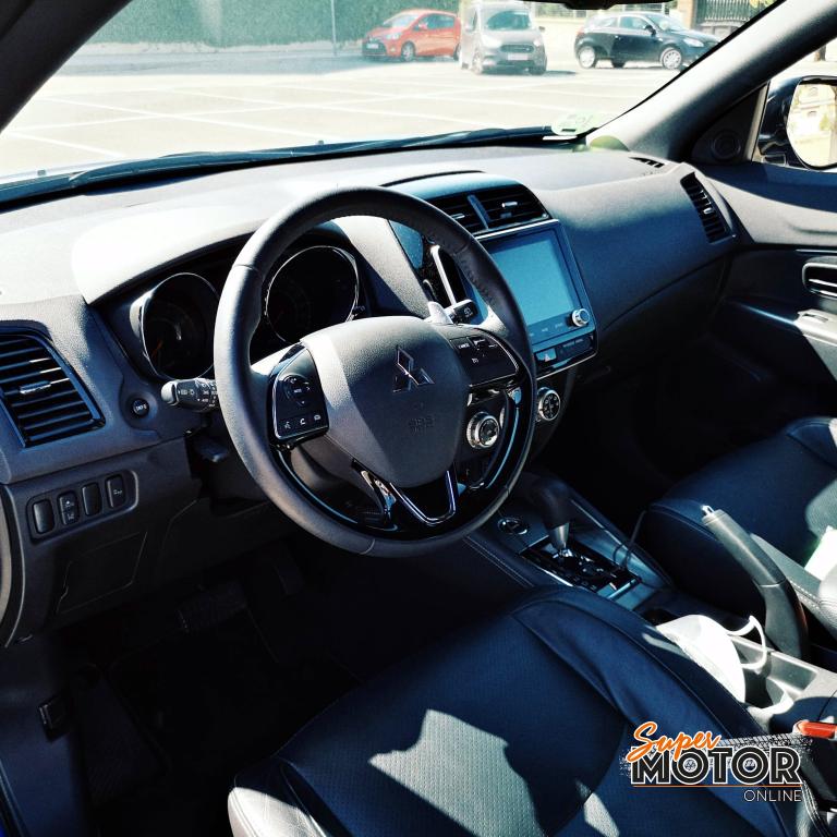 Al volante del Mitsubishi ASX 2020