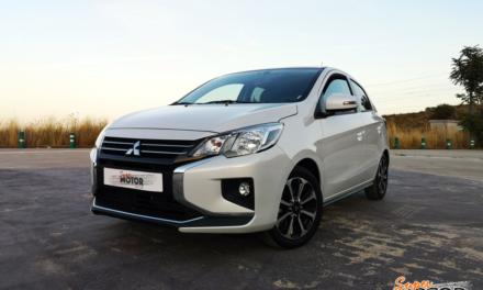 Al volante del Mitsubishi Space Star 2020