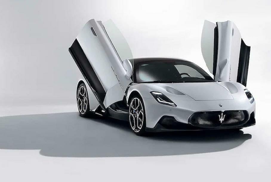 ¡Filtrado el nuevo Maserati MC20!