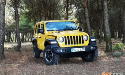 Al volante del Jeep Wrangler Unlimited Rubicon 2020