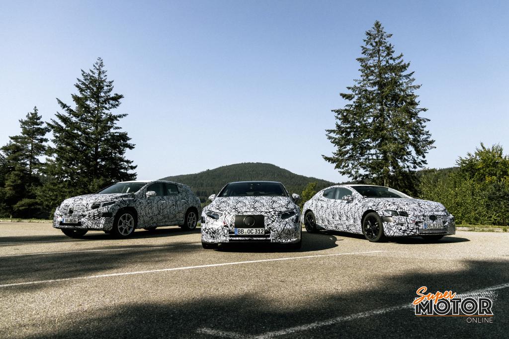 Seis nuevos modelos EQ de Mercedes Benz para el próximo año