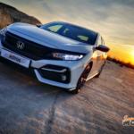 Al volante del Honda Civic 2020