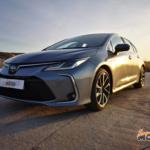 Al volante del Toyota Corolla Sedan 2020