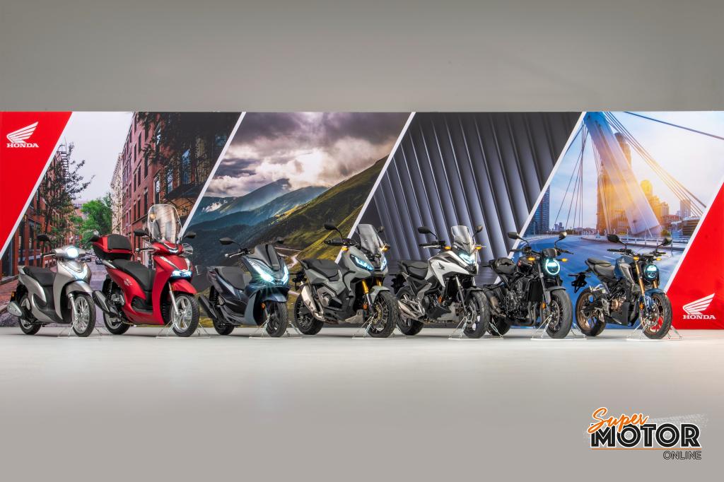 Siete novedades en la gama de Motos HONDA para el 2021
