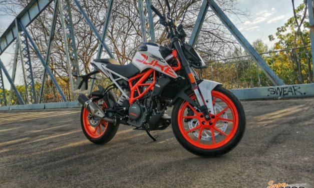 Rodando con la KTM Duke 390 2020