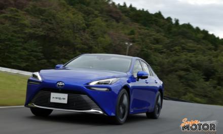 Toyota Mirai 2021, la segunda generación de la berlina de pila de combustible.