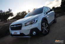 Al volante del Subaru Outback Bi-Fuel GLP 2021