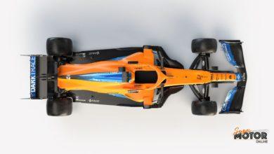 McLaren desvela el MCL35M
