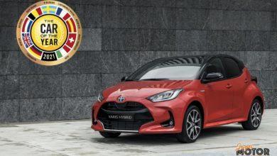 Toyota Yaris Coche del Año en Europa 2021