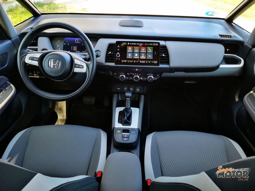 Al volante del Honda Jazz Crosstar 2021