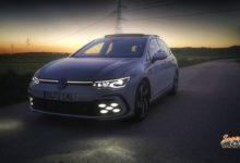 Al volante del Volkswagen Golf GTi 2021