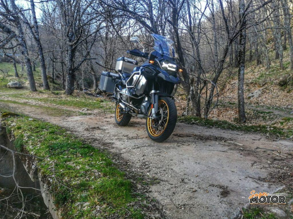 Rodando con la BMW R 1250 GS Adventure 2021