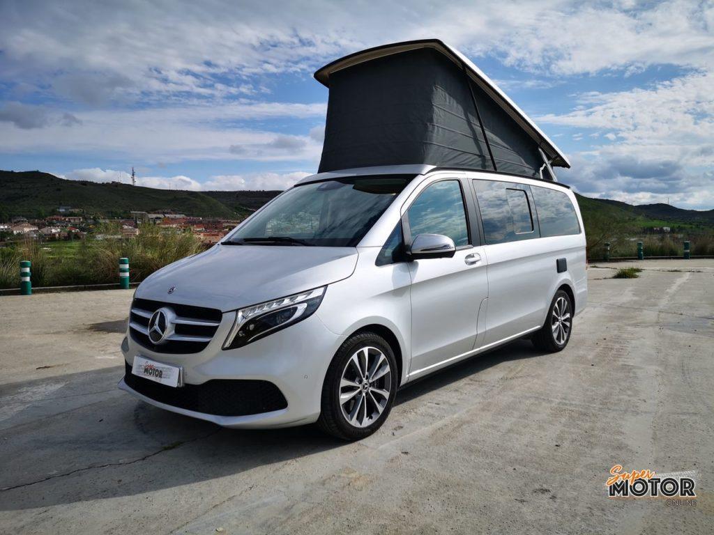 Al volante del Mercedes-Benz Marco Polo 2021