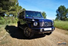 Al volante del Mercedes-Benz Clase G 2021