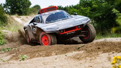 Audi RS Q E tron Dakar
