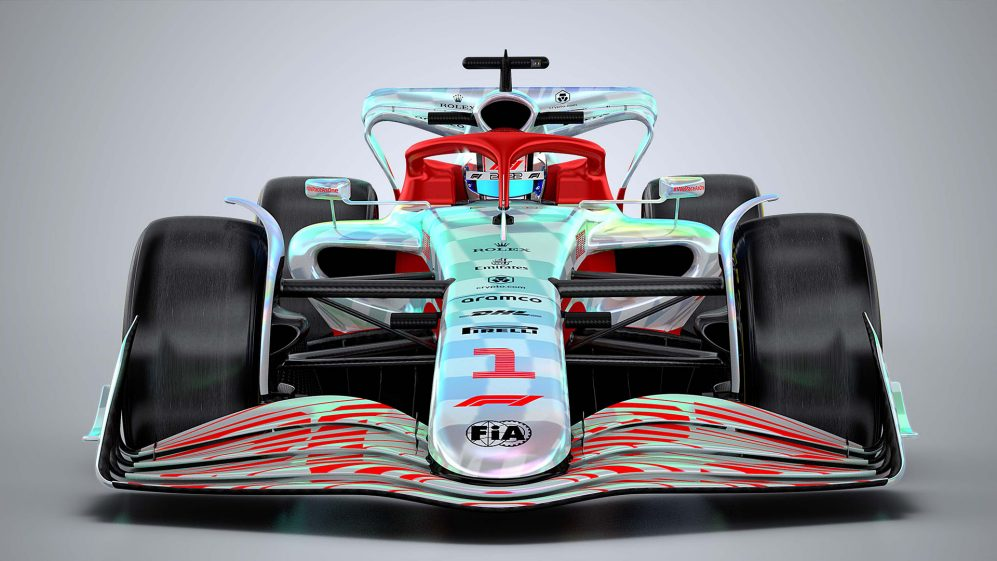 frontal f1 2022